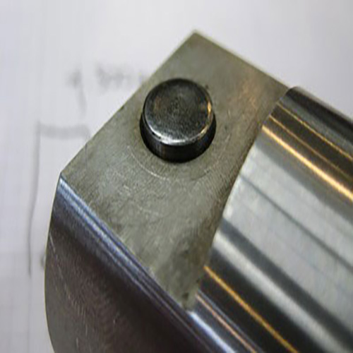 60 Rockwell Hardness Bearing Steel Orbitally Formed in Engine Component